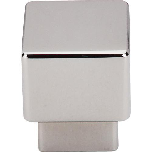Top Knobs T-TK32PN Sanctuary Polished Nickel Square Knob - Knob Depot