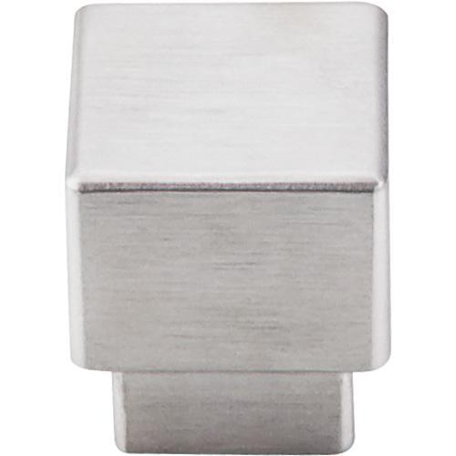 Top Knobs T-TK32SS Sanctuary II Brushed Stainless Steel Square Knob - Knob Depot