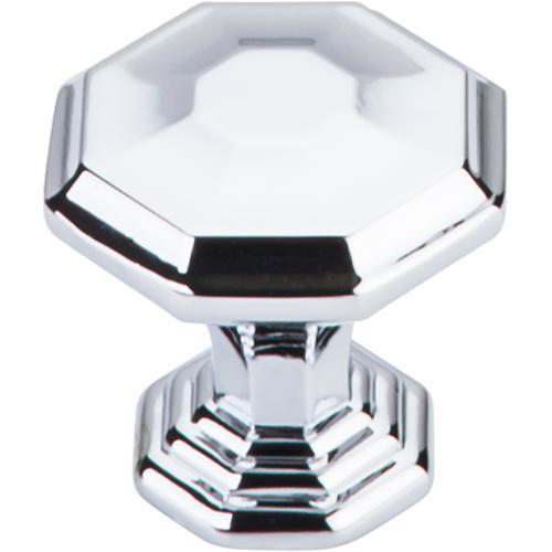 Top Knobs T-TK340PC Chareau Polished Chrome Octagon Knob - KnobDepot.com