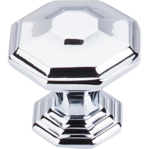 Top Knobs T-TK348PC Chareau Polished Chrome Octagon Knob - KnobDepot.com