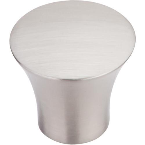 Top Knobs T-TK385BSN Chareau Brushed Satin Nickel Round Knob - KnobDepot.com
