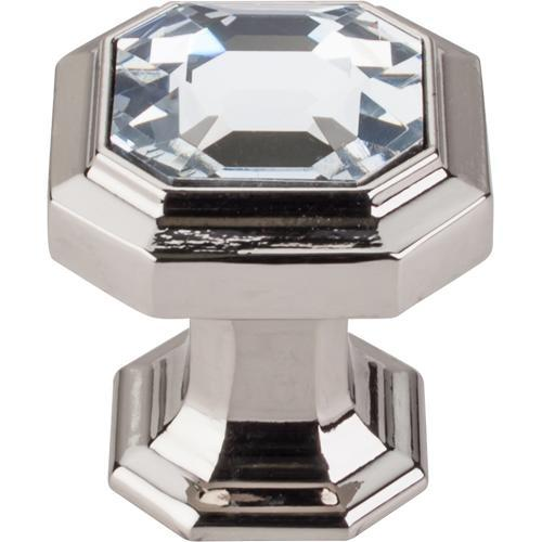 Top Knobs T-TK390PN Chareau Polished Nickel Octagon Knob - Knob Depot