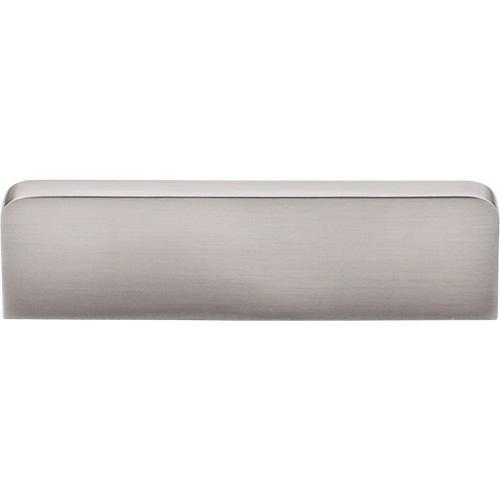 Top Knobs T-TK43BSN Sanctuary Brushed Satin Nickel Finger Pull - Knob Depot