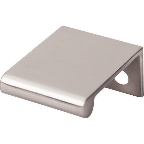 Top Knobs T-TK500BSN Mercer Brushed Satin Nickel Finger Pull - KnobDepot.com