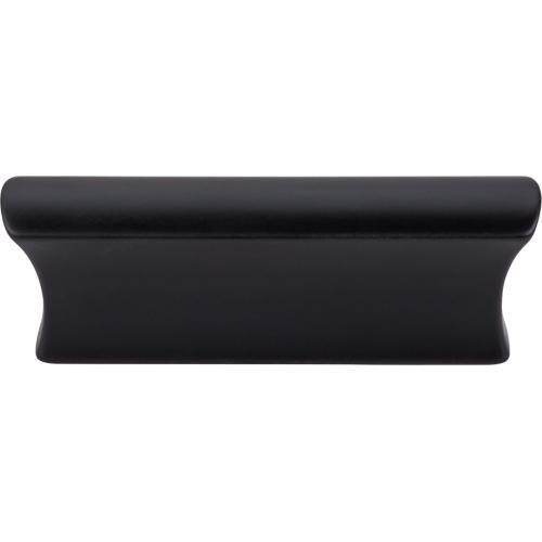 Top Knobs T-TK552BLK Mercer Flat Black Finger Pull - Knob Depot