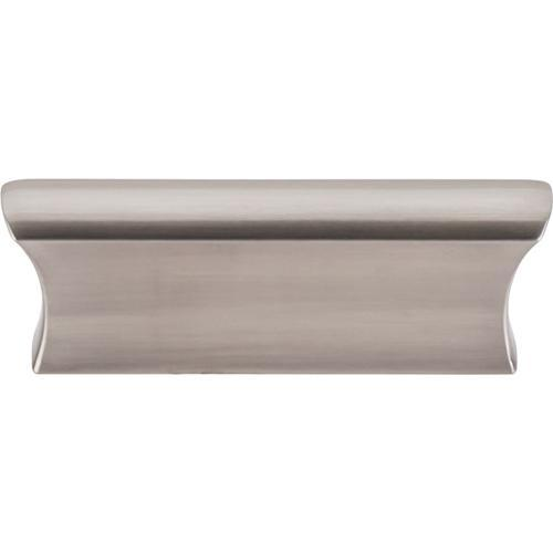 Top Knobs T-TK552BSN Mercer Brushed Satin Nickel Finger Pull - KnobDepot.com