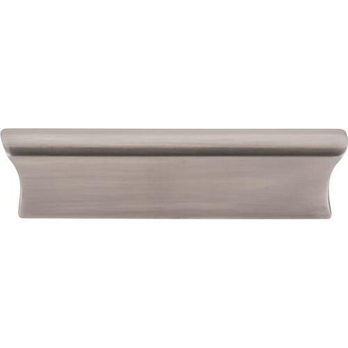 Top Knobs T-TK553BSN Mercer Brushed Satin Nickel Finger Pull - Knob Depot