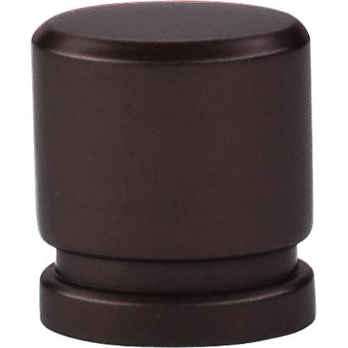 Top Knobs T-TK57ORB Sanctuary Oil Rubbed Bronze Oval Knob - Knob Depot