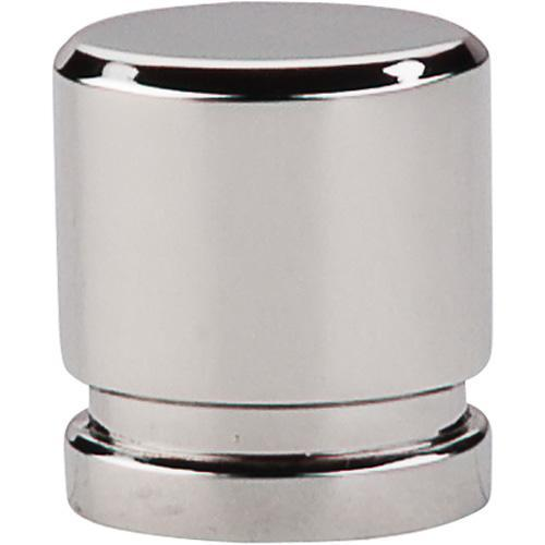 Top Knobs T-TK57PN Sanctuary Polished Nickel Oval Knob - KnobDepot.com