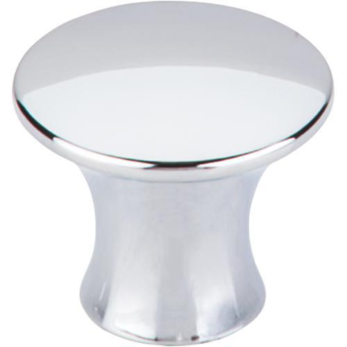 Top Knobs T-TK592PC Mercer Polished Chrome Round Knob - Knob Depot