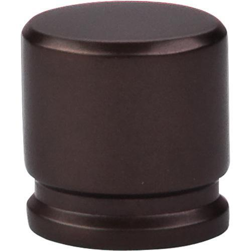 Top Knobs T-TK59ORB Sanctuary Oil Rubbed Bronze Oval Knob - KnobDepot.com
