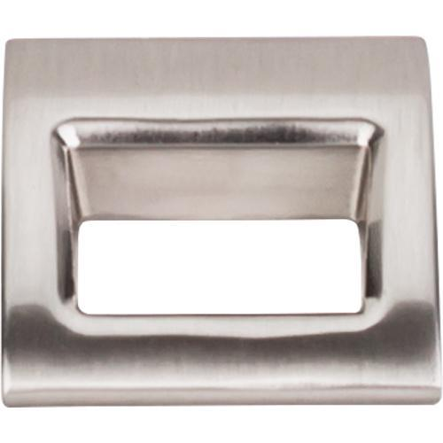 Top Knobs T-TK615BSN Mercer Brushed Satin Nickel Finger Pull - Knob Depot