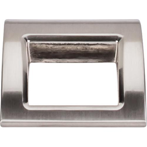 Top Knobs T-TK616BSN Mercer Brushed Satin Nickel Finger Pull - KnobDepot.com
