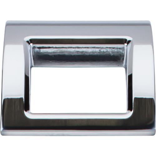 Top Knobs T-TK616PC Mercer Polished Chrome Finger Pull - KnobDepot.com