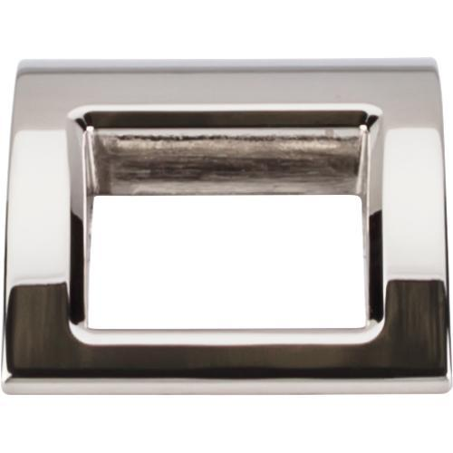 Top Knobs T-TK616PN Mercer Polished Nickel Finger Pull - Knob Depot