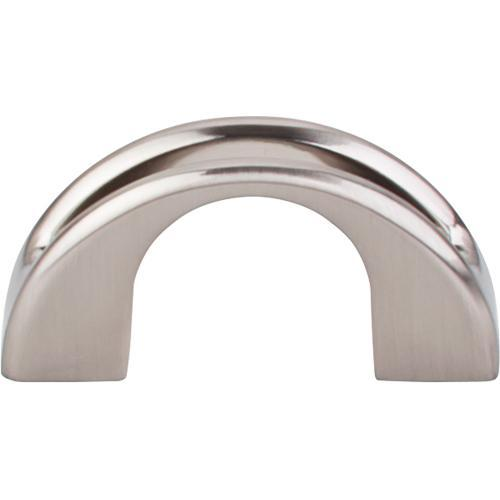 Top Knobs T-TK617BSN Mercer Brushed Satin Nickel Finger Pull - Knob Depot