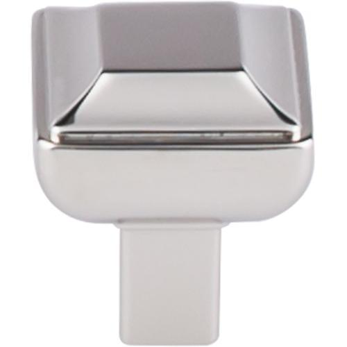 Top Knobs T-TK670PN Transcend Polished Nickel Square Knob - Knob Depot