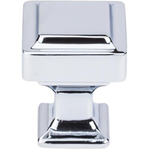 Top Knobs T-TK700PC Transcend Polished Chrome Square Knob - KnobDepot.com