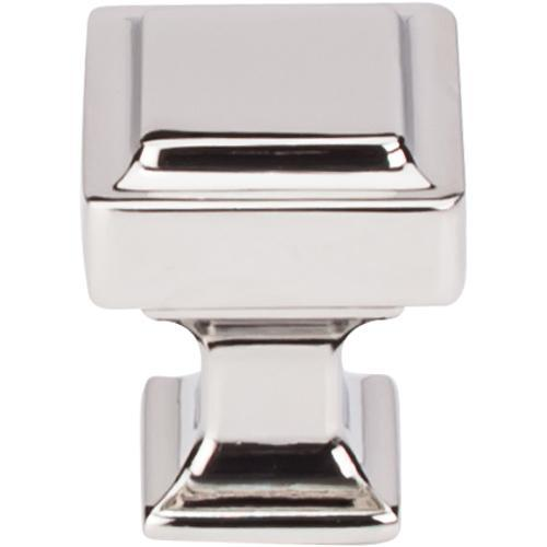 Top Knobs T-TK700PN Transcend Polished Nickel Square Knob - Knob Depot