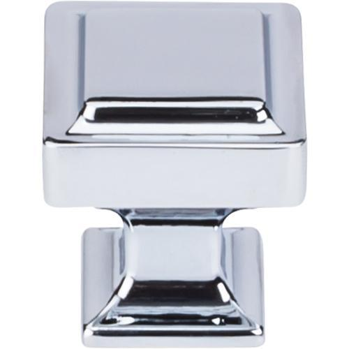 Top Knobs T-TK701PC Transcend Polished Chrome Square Knob - KnobDepot.com