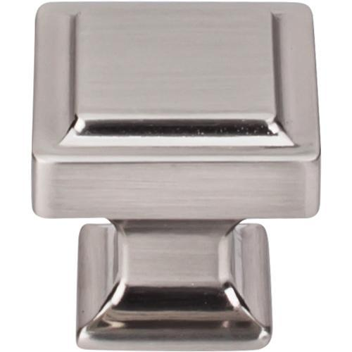 Top Knobs T-TK702BSN Transcend Brushed Satin Nickel Square Knob - Knob Depot