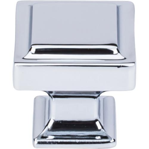 Top Knobs T-TK702PC Transcend Polished Chrome Square Knob - Knob Depot