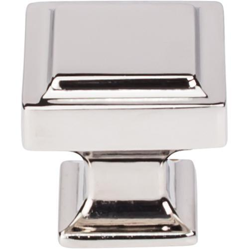 Top Knobs T-TK702PN Transcend Polished Nickel Square Knob - Knob Depot