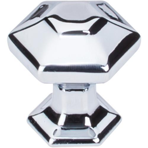 Top Knobs T-TK711PC Transcend Polished Chrome Hexagon Hexagon Knob - KnobDepot.com