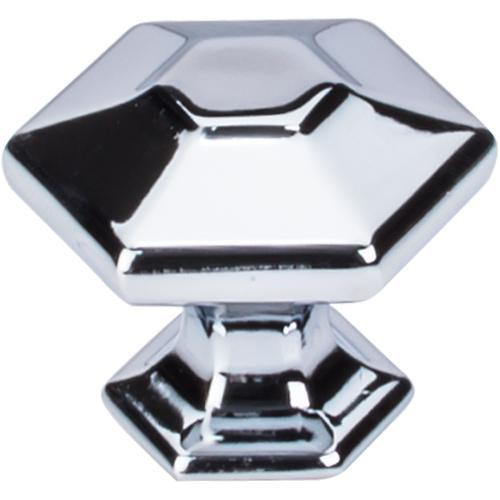 Top Knobs T-TK713PC Transcend Polished Chrome Hexagon Hexagon Knob - KnobDepot.com