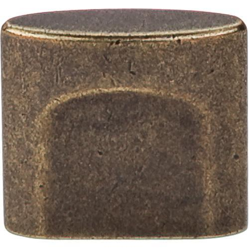 Top Knobs T-TK73GBZ Sanctuary German Bronze Oval Knob - KnobDepot.com