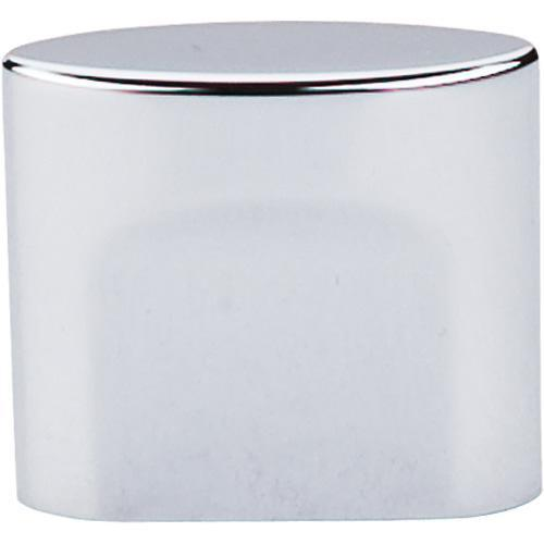 Top Knobs T-TK73PC Sanctuary Polished Chrome Oval Knob - KnobDepot.com