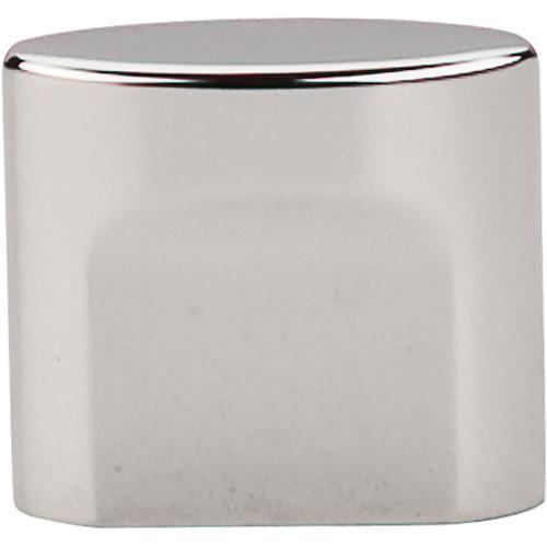 Top Knobs T-TK73PN Sanctuary Polished Nickel Oval Knob - KnobDepot.com