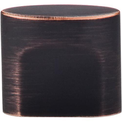 Top Knobs T-TK73TB Sanctuary Tuscan Bronze Oval Knob - KnobDepot.com