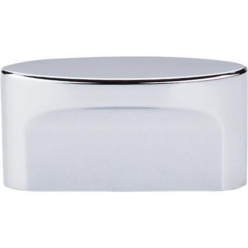 Top Knobs T-TK74PC Sanctuary Polished Chrome Oval Knob - KnobDepot.com