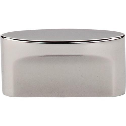 Top Knobs T-TK74PN Sanctuary Polished Nickel Oval Knob - KnobDepot.com
