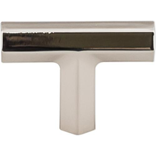 Top Knobs T-TK790PN Serene Polished Nickel T-Knob - KnobDepot.com