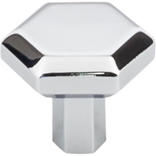 Top Knobs T-TK792PC Serene Polished Chrome Hexagon Hexagon Knob - KnobDepot.com