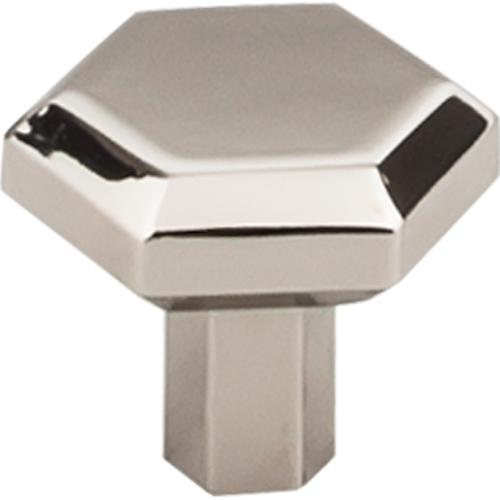 Top Knobs T-TK792PN Serene Polished Nickel Hexagon Hexagon Knob - KnobDepot.com