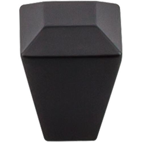 Top Knobs T-TK811BLK Serene Flat Black Square Knob
