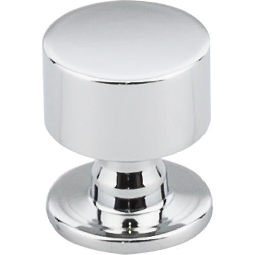 Top Knobs T-TK821PC Serene Polished Chrome Round Knob - KnobDepot.com