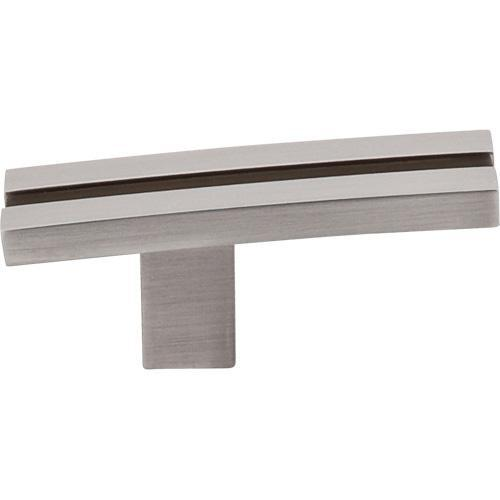 Top Knobs T-TK82BSN Sanctuary Brushed Satin Nickel T-Knob - KnobDepot.com