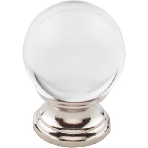 Top Knobs T-TK841PN Serene Polished Nickel Base Round Knob - Knob Depot