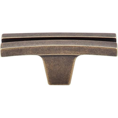 Top Knobs T-TK87GBZ Sanctuary German Bronze T-Knob - Knob Depot
