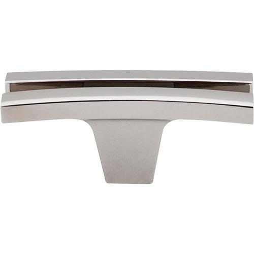 Top Knobs T-TK87PN Sanctuary Polished Nickel T-Knob - KnobDepot.com
