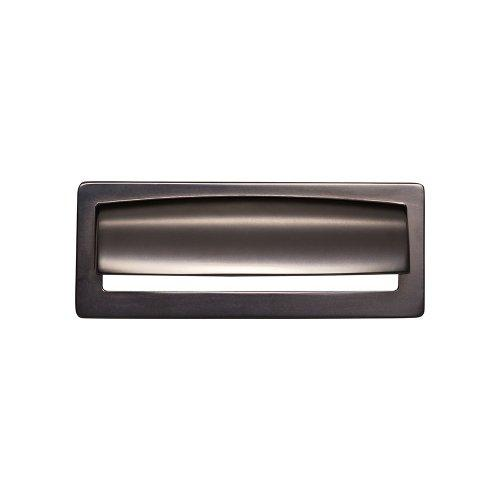 Top Knobs T-TK937AG Lynwood Ash Grey Square Pull - Knob Depot