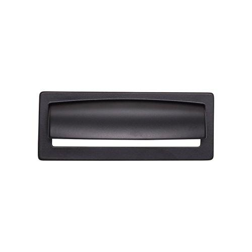 Top Knobs T-TK937BLK Lynwood Flat Black Square Pull - Knob Depot
