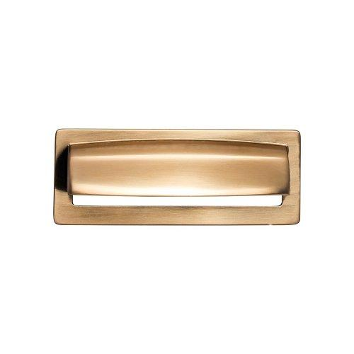 Top Knobs T-TK937HB Lynwood Honey Bronze Square Pull - KnobDepot.com