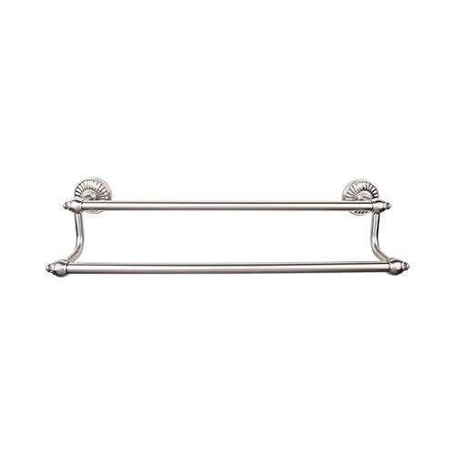 Top Knobs T-TUSC11BSN Tuscany - Bathroom Brushed Satin Nickel Towel Bar - Knob Depot