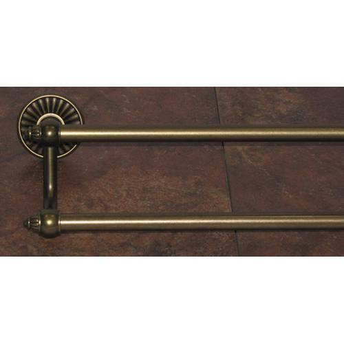 Top Knobs T-TUSC11GBZ Tuscany - Bathroom German Bronze Towel Bar - Knob Depot