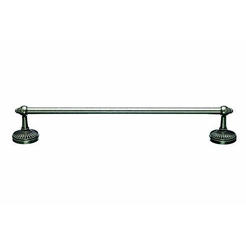 Top Knobs T-TUSC6PTA Tuscany - Bathroom Antique Pewter Towel Bar - Knob Depot